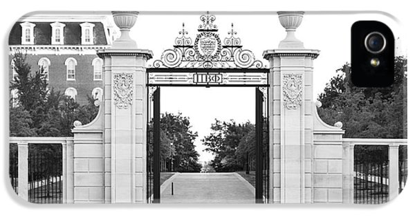 University Of Arkansas Centennial Gate IPhone 5 / 5s Case by University Icons