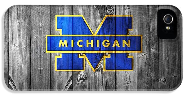 University Of Michigan IPhone 5 / 5s Case by Dan Sproul