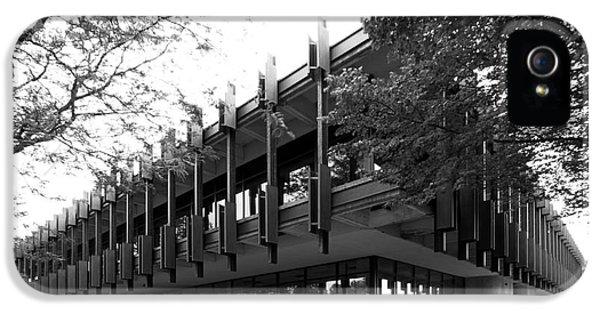 Eco iPhone 5 Cases - University of Wisconsin Green Bay Rose Hall iPhone 5 Case by University Icons