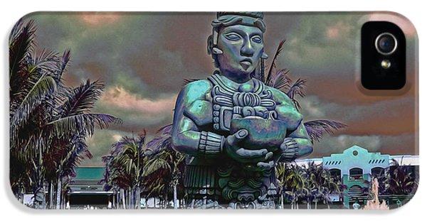 Ignacio iPhone 5 Cases - Uno Maya iPhone 5 Case by Dancin Artworks