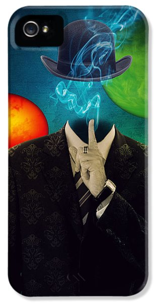 Up In Smoke IPhone 5 / 5s Case by Juli Scalzi