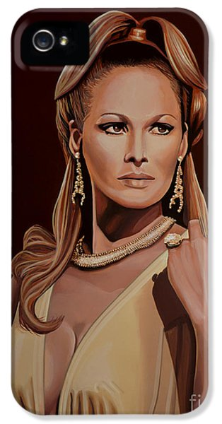 Moviestar iPhone 5 Cases - Ursula Andress iPhone 5 Case by Paul Meijering