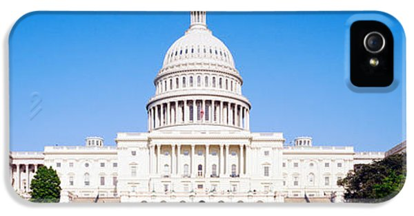 Senate iPhone 5 Cases - Us Capitol, Washington Dc, District Of iPhone 5 Case by Panoramic Images