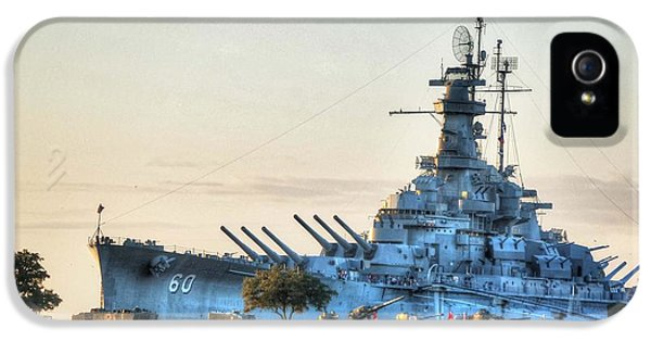 Micdesigns iPhone 5 Cases - USS Alabama iPhone 5 Case by Michael Thomas