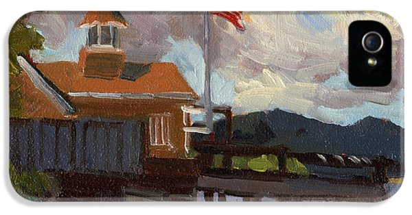 4th Of July iPhone 5 Cases - Vashon Island 4th of July iPhone 5 Case by Diane McClary