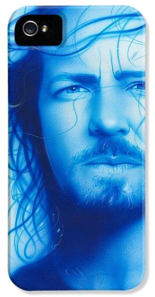 Eddie Vedder - ' Vedder ' IPhone 5 / 5s Case by Christian Chapman Art