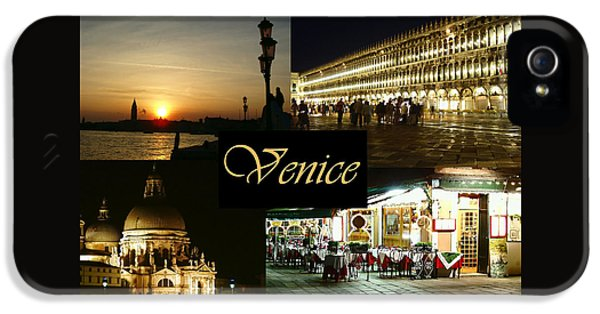 Ristorante iPhone 5 Cases - Venice by Night iPhone 5 Case by Ellen Henneke