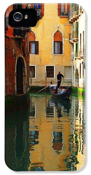 Bob Christopher iPhone 5 Cases - Venice Reflections iPhone 5 Case by Bob Christopher