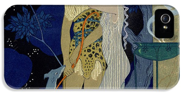 Clothing iPhone 5 Cases - Venus and Adonis  iPhone 5 Case by Georges Barbier