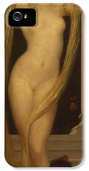 Meeting iPhone 5 Cases - Venus and Cupid iPhone 5 Case by Frederic Leighton