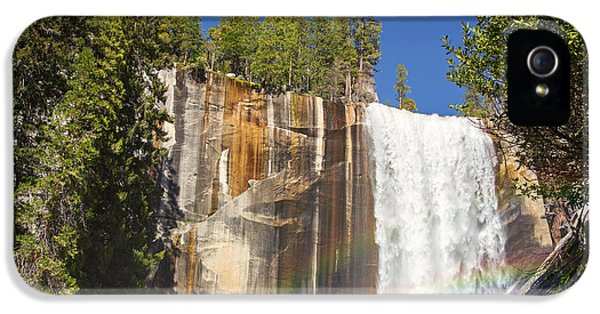 Spectrum iPhone 5 Cases - Vernal falls rainbow iPhone 5 Case by Jane Rix