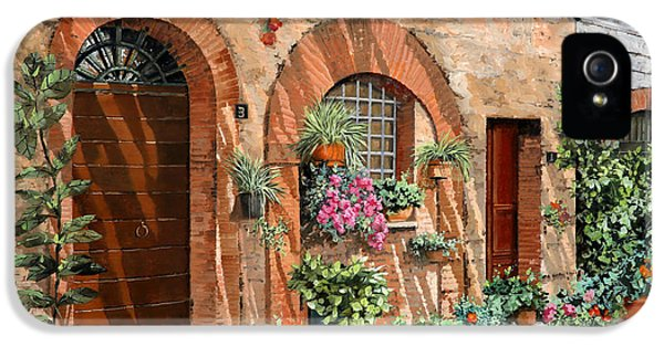 Tourism iPhone 5 Cases - Viaggio In Toscana iPhone 5 Case by Guido Borelli