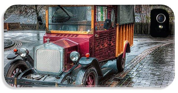 Brick iPhone 5 Cases - Victorian Car Replica  iPhone 5 Case by Adrian Evans