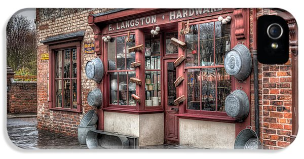 Hardware iPhone 5 Cases - Victorian Hardware Store iPhone 5 Case by Adrian Evans