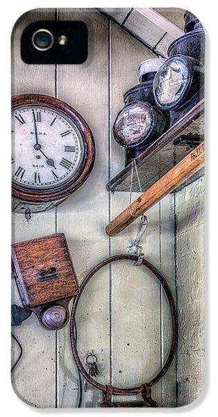 Fibre iPhone 5 Cases - Victorian Train Memorabilia iPhone 5 Case by Adrian Evans