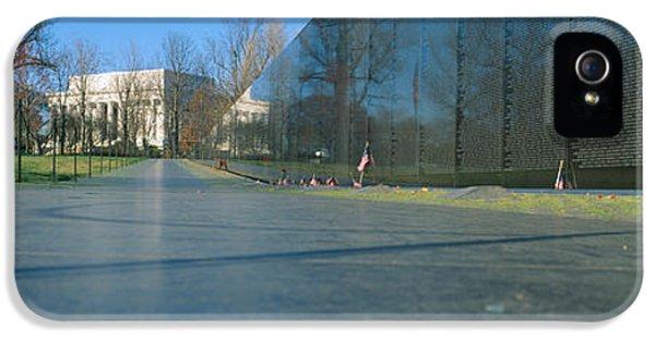 Vietnam Memorial iPhone 5 Cases - Vietnam Veterans Memorial, Washington Dc iPhone 5 Case by Panoramic Images