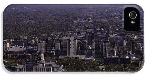 Main Street iPhone 5 Cases - View From Ensign iPhone 5 Case by Chad Dutson