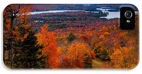 View From Mccauley Mountain II IPhone 5 / 5s Case by David Patterson