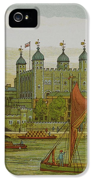 View Of The Tower Of London IPhone 5 / 5s Case by British Library