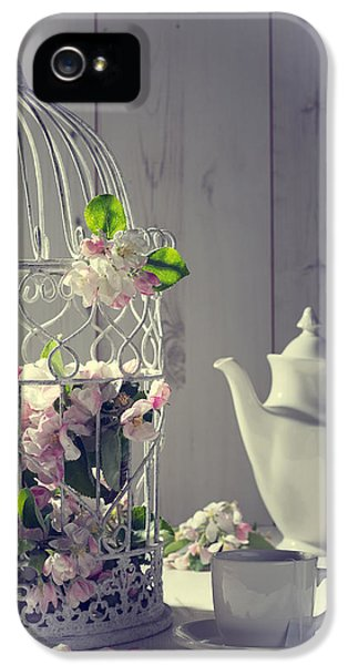 High Key iPhone 5 Cases - Vintage Afternoon Tea iPhone 5 Case by Amanda And Christopher Elwell
