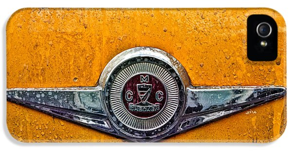 Yellow Taxi iPhone 5 Cases - Vintage checker taxi iPhone 5 Case by John Farnan