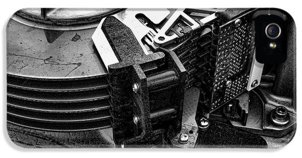 Vintage Hard Drive IPhone 5 / 5s Case by Olivier Le Queinec
