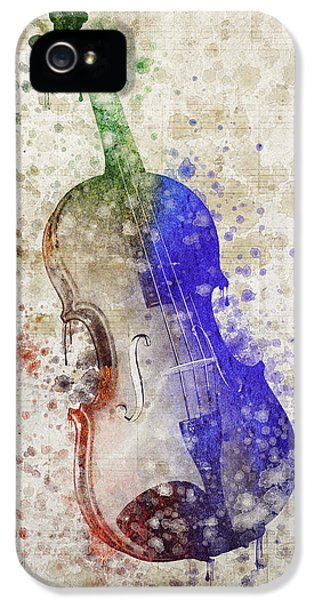 Violin IPhone 5 / 5s Case by Aged Pixel
