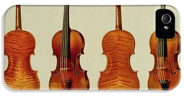 Violins IPhone 5 / 5s Case by Alfred James Hipkins
