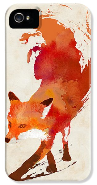 Vulpes Vulpes IPhone 5 / 5s Case by Robert Farkas