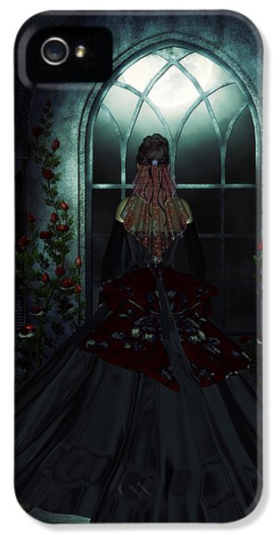 Patiently iPhone 5 Cases - Waiting for your arrival iPhone 5 Case by Nelieta Mishchenko
