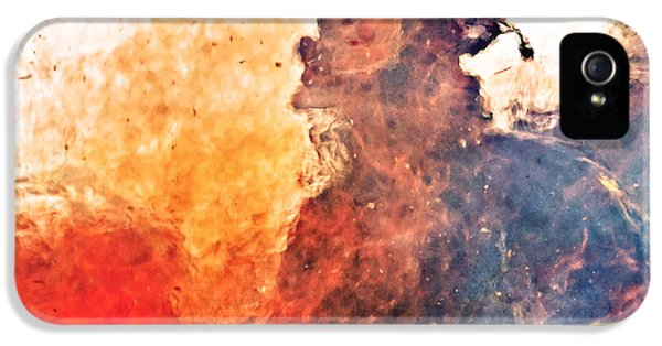 Burnt iPhone 5 Cases - Walk Through Hell iPhone 5 Case by Everet Regal