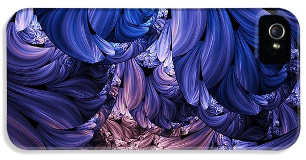 Asymmetrical iPhone 5 Cases - Walk Through The Petals Abstract iPhone 5 Case by Georgiana Romanovna