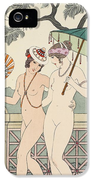 Medical iPhone 5 Cases - Walking Around Naked As Much As We Can iPhone 5 Case by Joseph Kuhn-Regnier