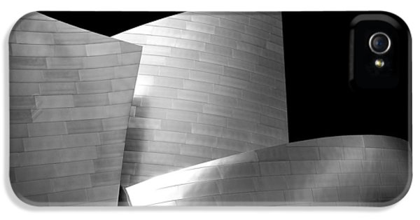 Futuristic iPhone 5 Cases - Walt Disney Concert Hall 1 iPhone 5 Case by Az Jackson