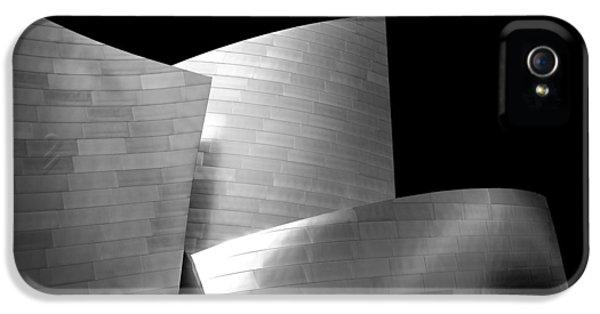 3 iPhone 5 Cases - Walt Disney Concert Hall 1 iPhone 5 Case by Az Jackson