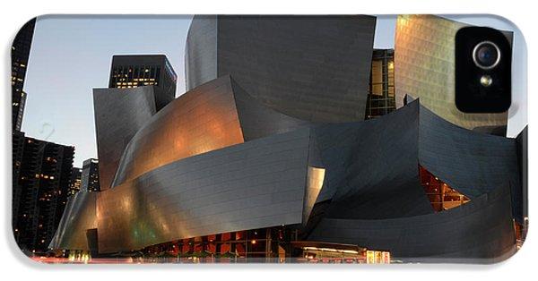 Bob Christopher iPhone 5 Cases - Walt Disney Concert Hall 21 iPhone 5 Case by Bob Christopher