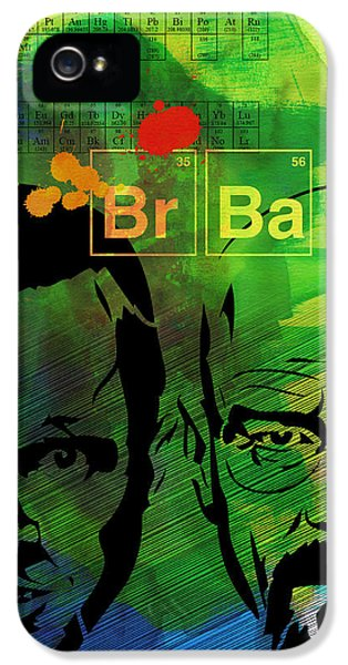 Bad iPhone 5 Cases - Walter and Jesse Watercolor iPhone 5 Case by Naxart Studio