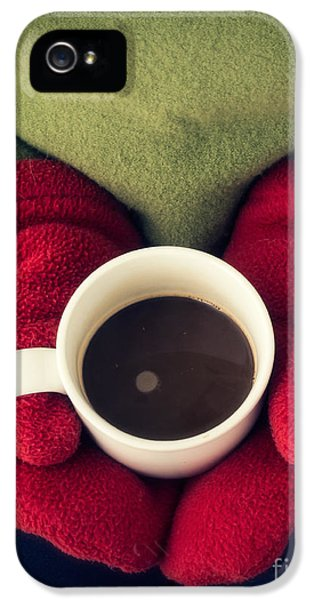 Bundle iPhone 5 Cases - Warming Up with Hot Cocoa iPhone 5 Case by Edward Fielding