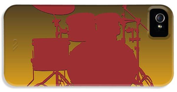 Washington Redskins Drum Set IPhone 5 / 5s Case by Joe Hamilton