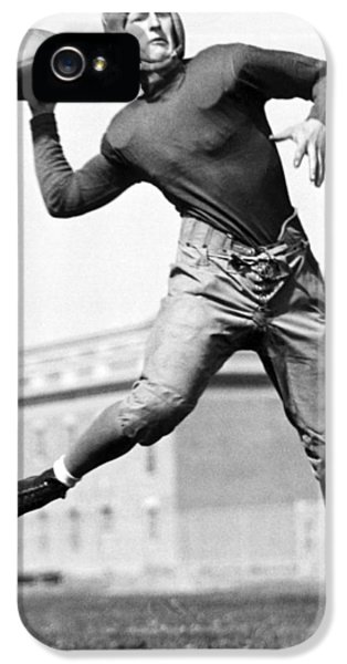 Washington State Quarterback IPhone 5 / 5s Case by Underwood Archives