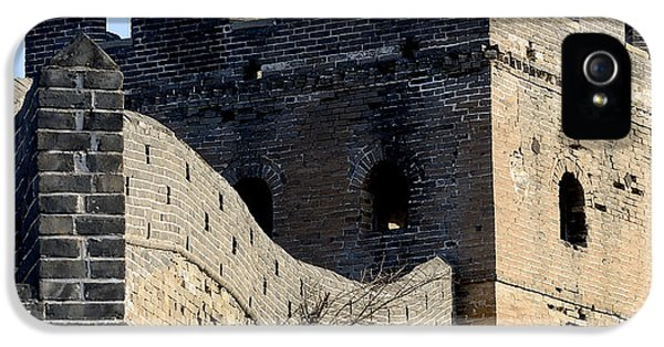 Nl iPhone 5 Cases - Watchtower on the Great Wall of China iPhone 5 Case by Brendan Reals