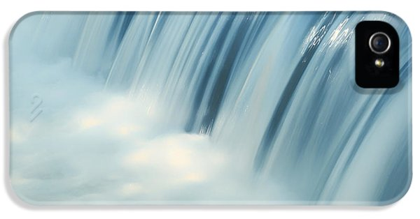 Sparking iPhone 5 Cases - Waterfall Blues iPhone 5 Case by Mountain Dreams