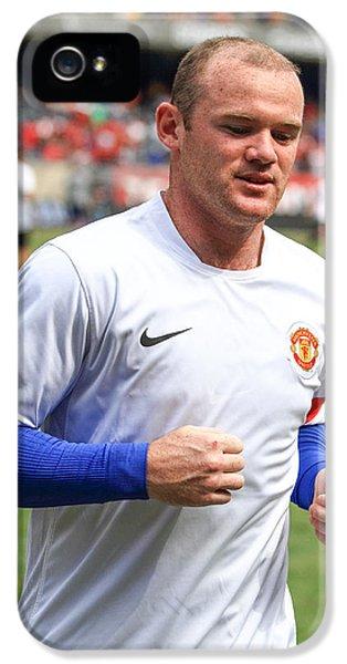 Wayne Rooney 5 IPhone 5 / 5s Case by Keith R Crowley