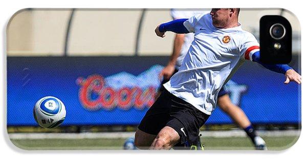 Wayne Rooney IPhone 5 / 5s Case by Keith R Crowley
