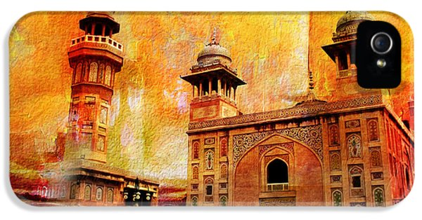 Pakistan iPhone 5 Cases - Wazir Khan Mosque iPhone 5 Case by Catf