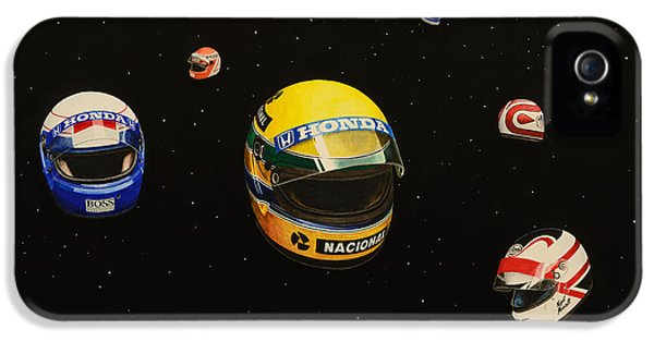 Michael Schumacher iPhone 5 Cases - We are Flying High   iPhone 5 Case by Oleg Konin