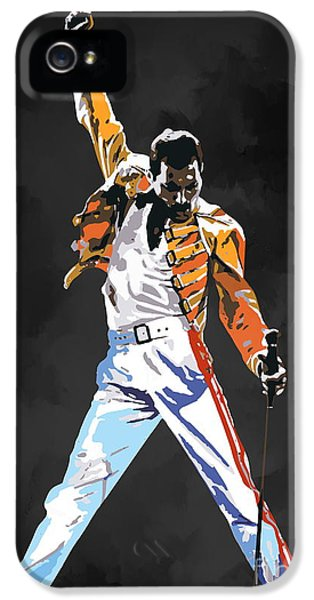 Composer iPhone 5 Cases - We Are the Champions  iPhone 5 Case by Andrzej Szczerski