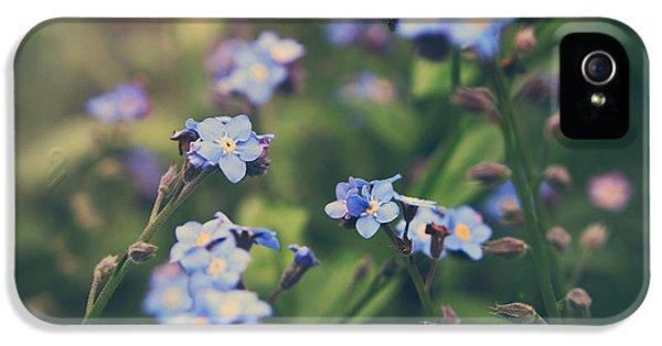 Gardens iPhone 5 Cases - We Lay With the Flowers iPhone 5 Case by Laurie Search