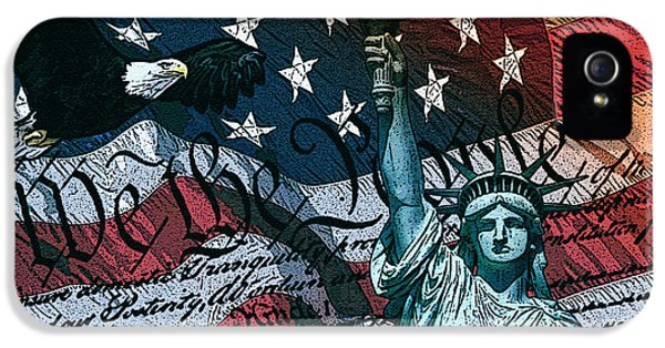 We The People IPhone 5 / 5s Case by Dancin Artworks