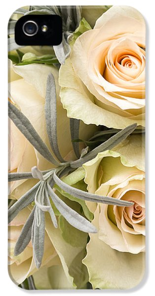 Creativity iPhone 5 Cases - Wedding Flowers iPhone 5 Case by Wim Lanclus